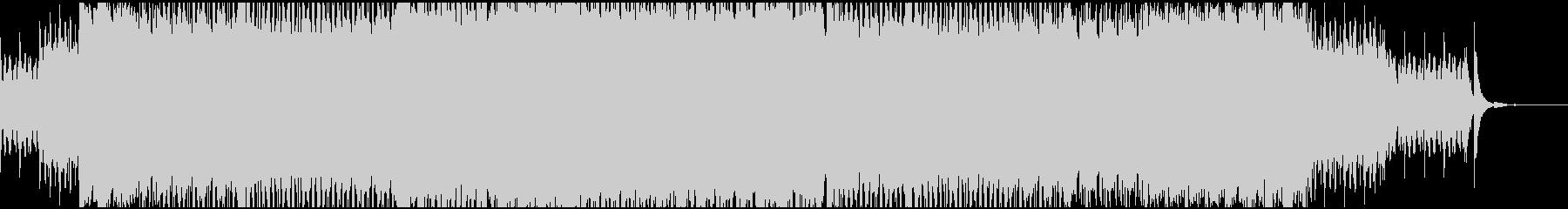 クールなテクノ(ややエスニック)EDMの未再生の波形