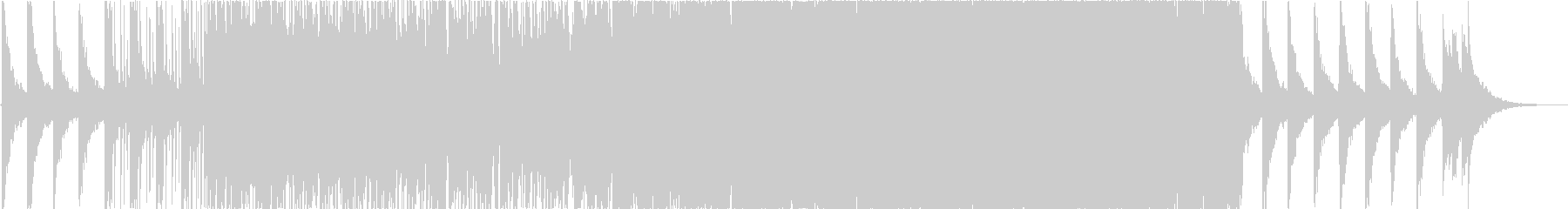 youtubeに使えそうなBGMの未再生の波形