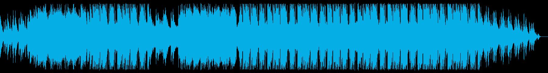 琴/和風だが今っぽいクールなヒップホップの再生済みの波形