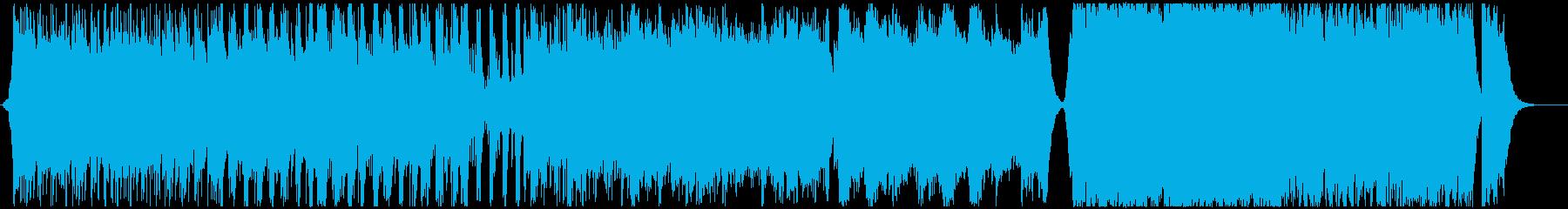 大地の鼓動-壮大なオーケストラの再生済みの波形