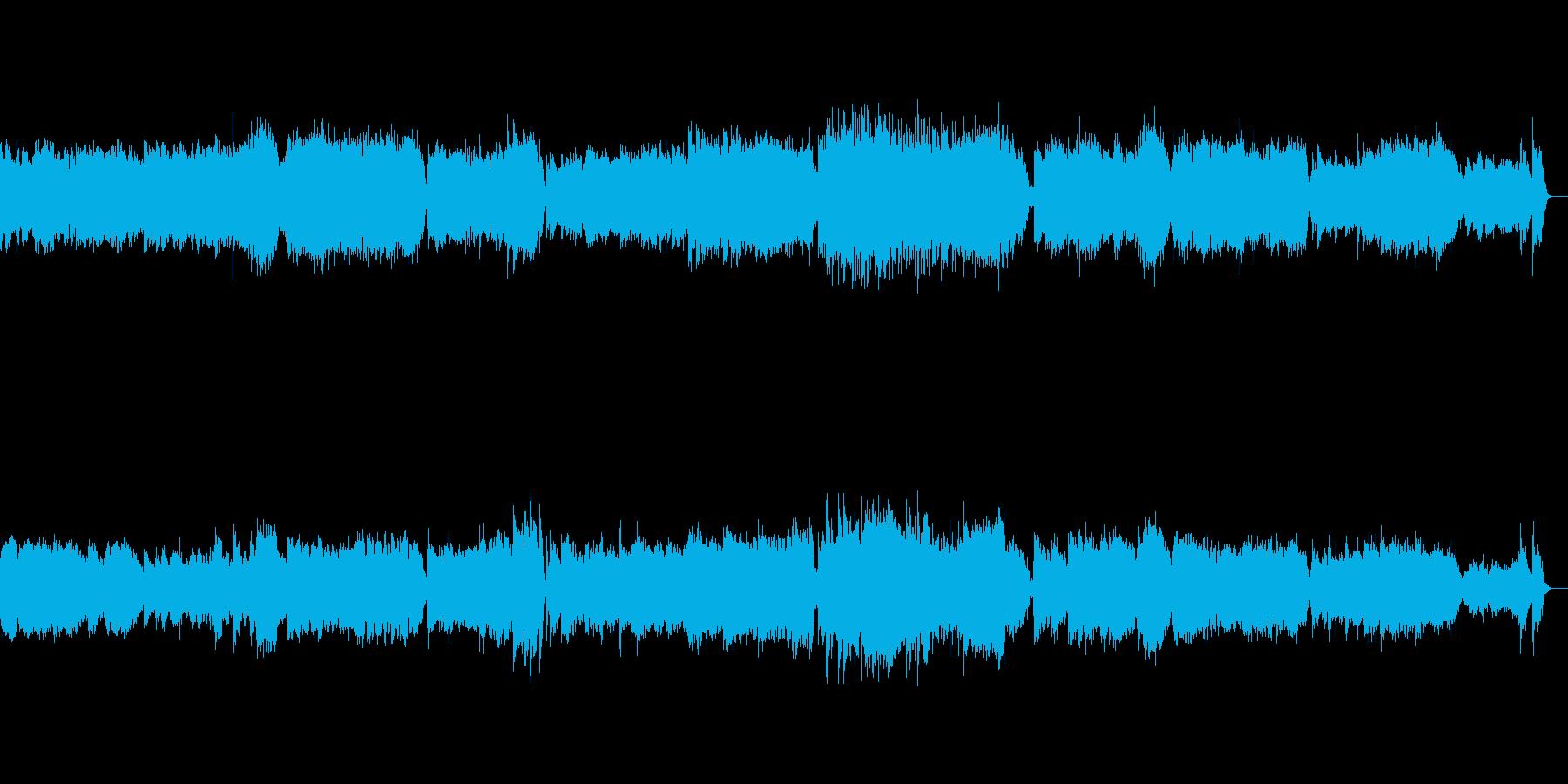 小組曲より第三楽章メヌエットの再生済みの波形