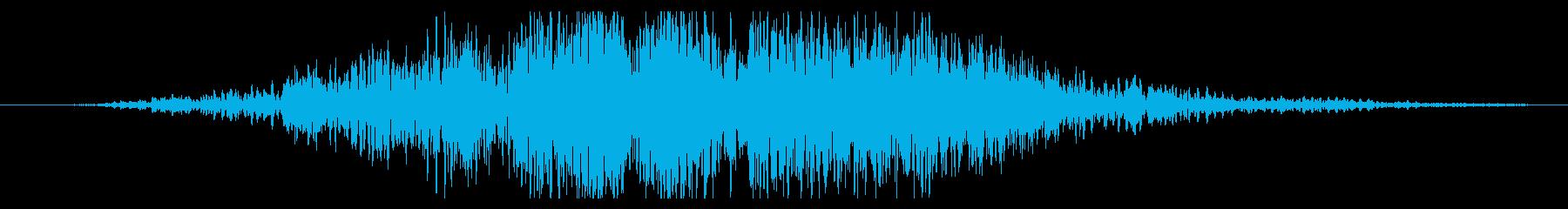 上昇 ストームドローン01の再生済みの波形