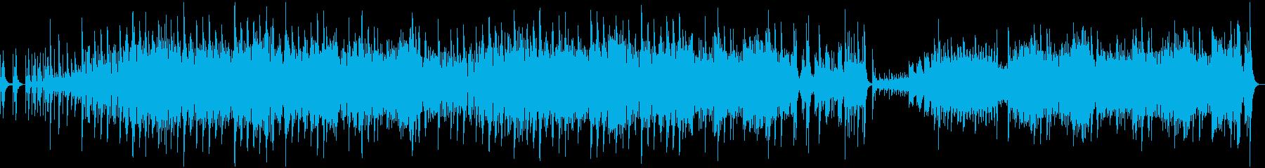和風・三味線/箏/尺八/和太鼓・和洋折衷の再生済みの波形