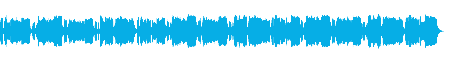 ハッピーバースデー【リコーダーアレンジ】の再生済みの波形