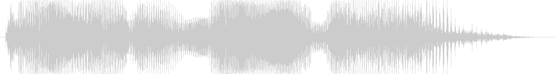 トルネード!の未再生の波形
