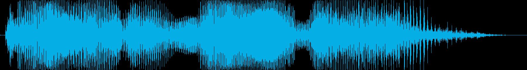 トルネード!の再生済みの波形