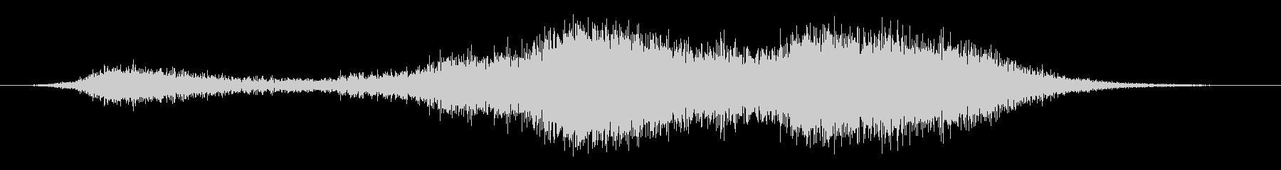 スイープ7によるアプリケーションパスの未再生の波形