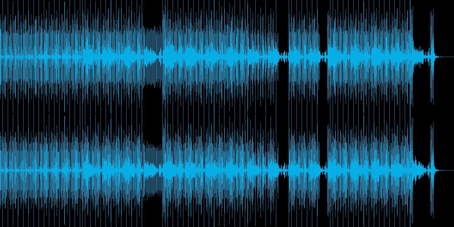 説明時のBGM、物理、論理系にピッタリ…の再生済みの波形