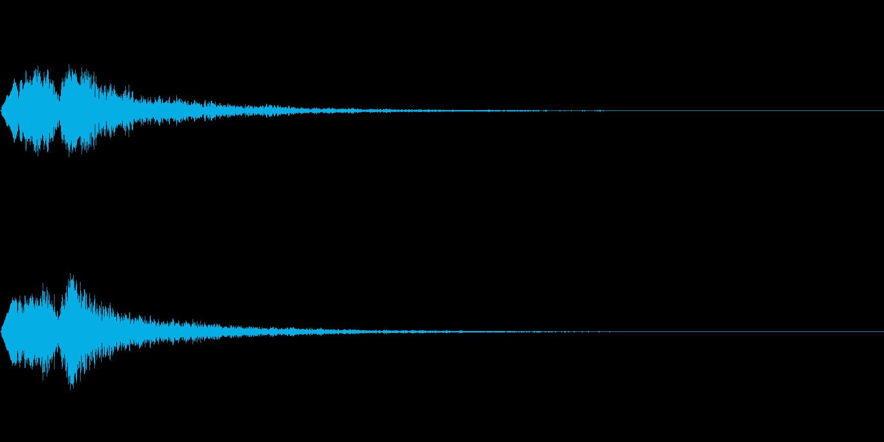 Vox 不気味な鳴き声 ホラーSE 5の再生済みの波形