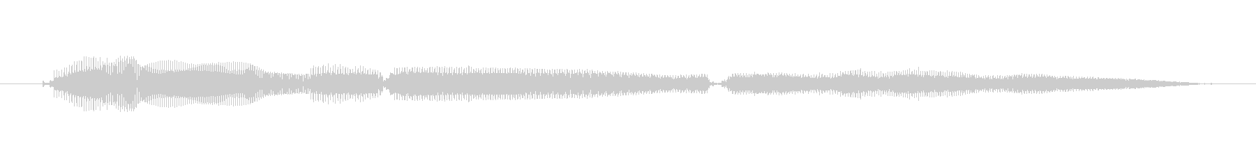 鳴き声 女性トークエルフィッシュ13の未再生の波形