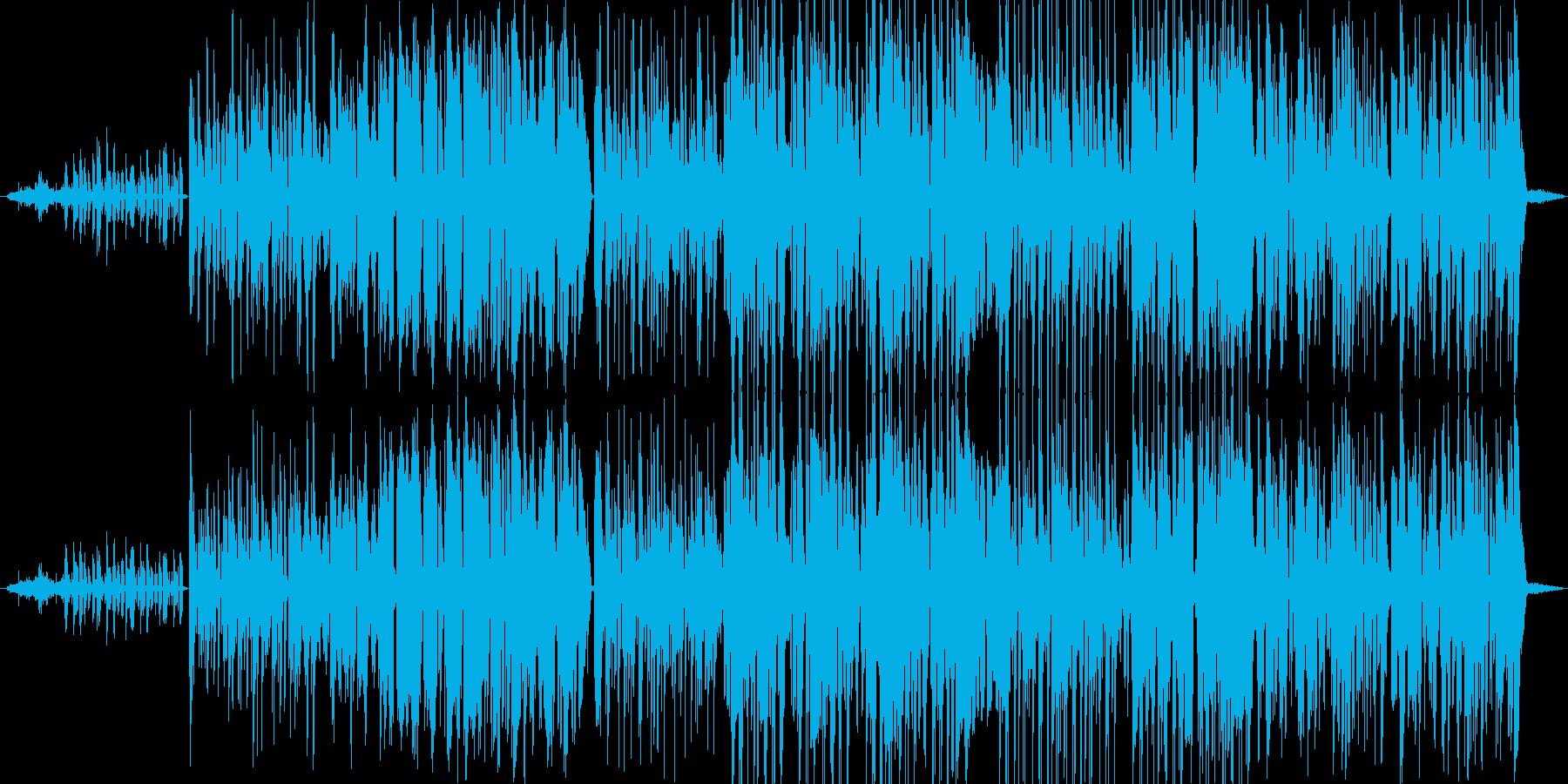 ファンキーなポップス アコースティックの再生済みの波形