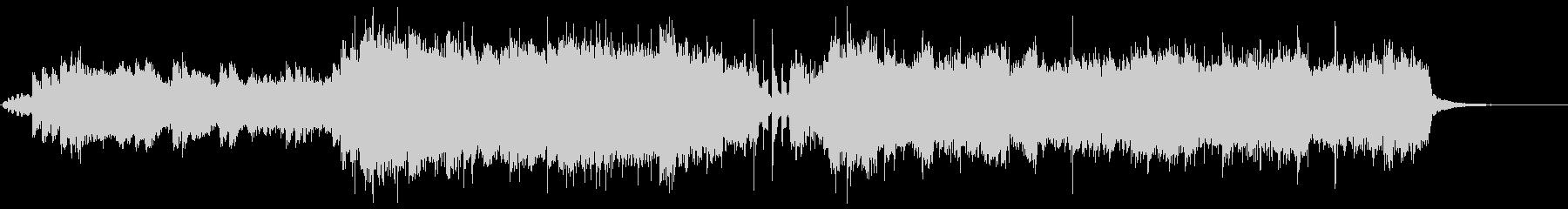 アニソンイントロポップの未再生の波形