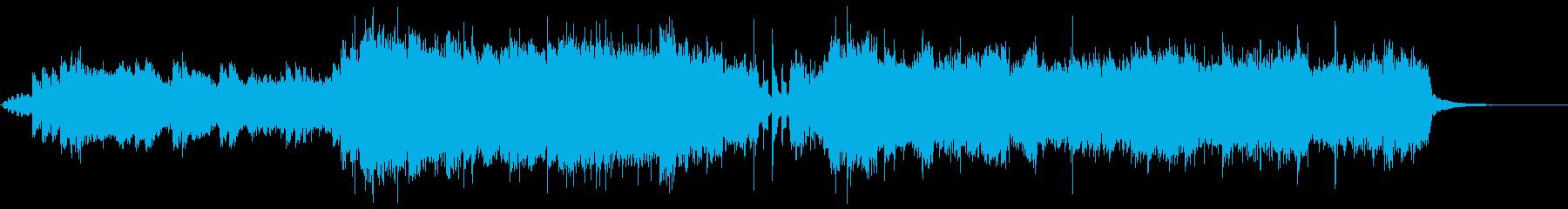 アニソンイントロポップの再生済みの波形