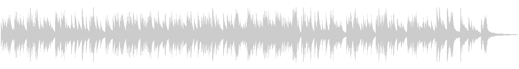 映画「カサブランカ」テーマ曲ピアノソロの未再生の波形