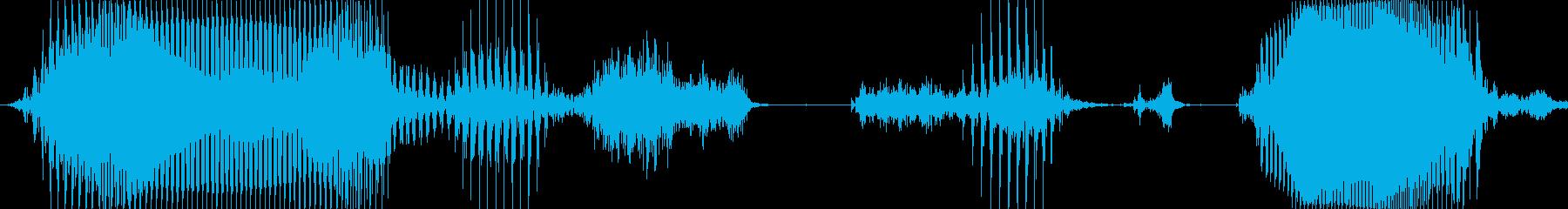 ボーナス確定!の再生済みの波形
