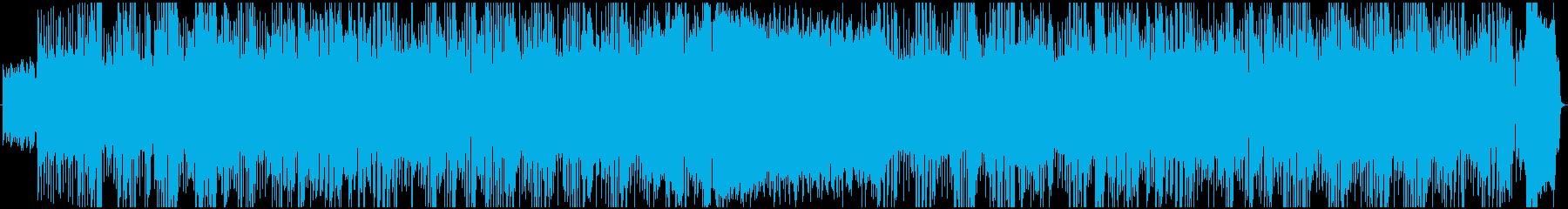 愛あるエッチなノリノリのロックの再生済みの波形