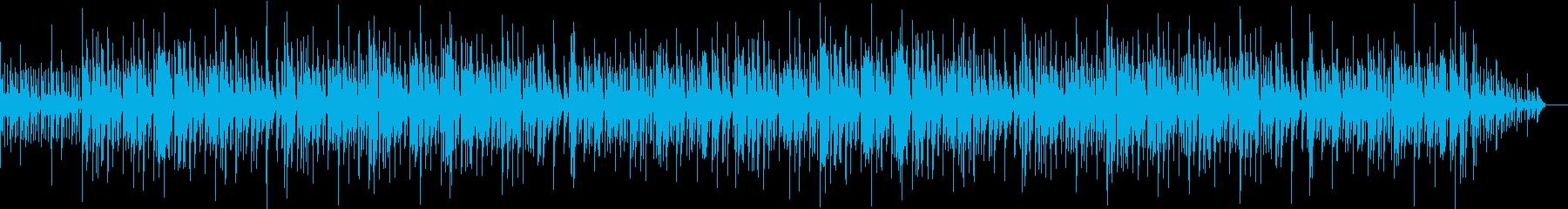 軽快で洗練されたジャズの再生済みの波形