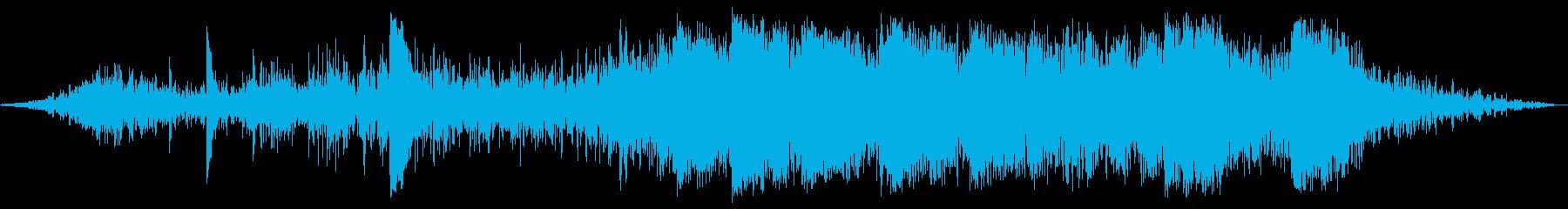 内部地震のゴロゴロ、ストレスクラッ...の再生済みの波形
