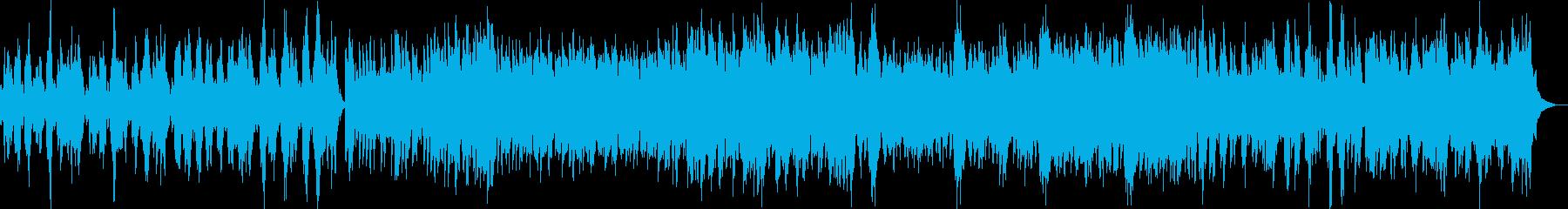 ケルト風ファンタジー世界の村BGMの再生済みの波形