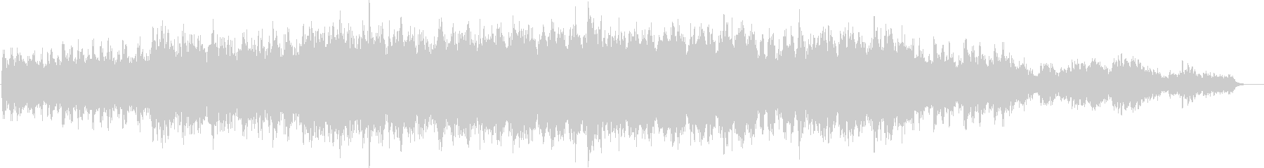 Moist and fantastic melody's unreproduced waveform