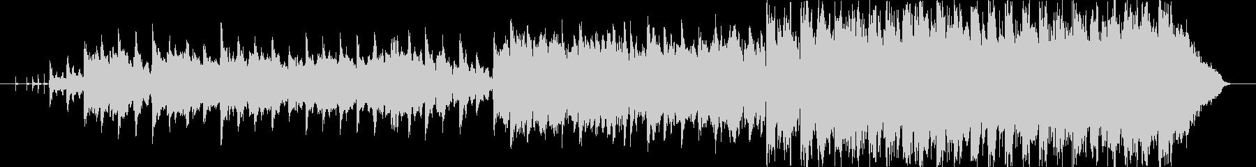 ドナウ川のさざ波調のオーケストラワルツの未再生の波形