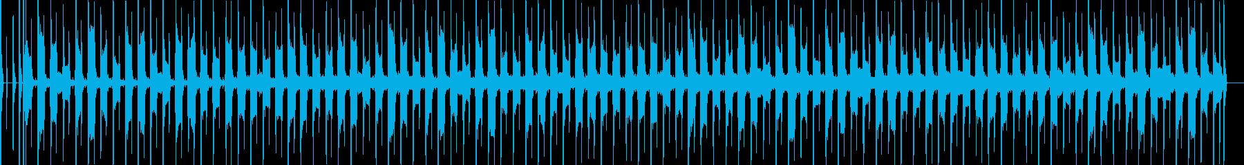 ベース演奏、落ち着くBGMの再生済みの波形