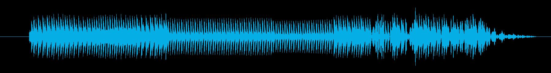 FX クレイジーサイエンティスト02の再生済みの波形