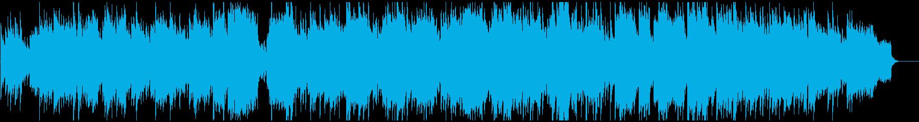 ほのぼの和洋折衷な日常BGM 篠笛生演奏の再生済みの波形