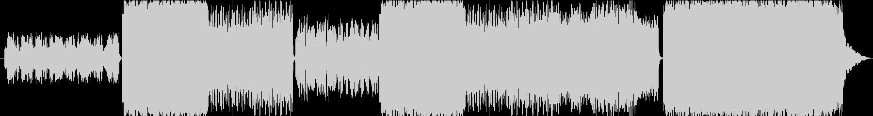 中世ヨーロッパ風のオーケストラBGMの未再生の波形