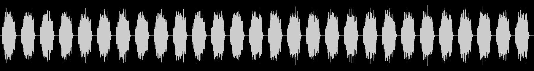 ソナ宇宙船:クラクソンアラームの未再生の波形