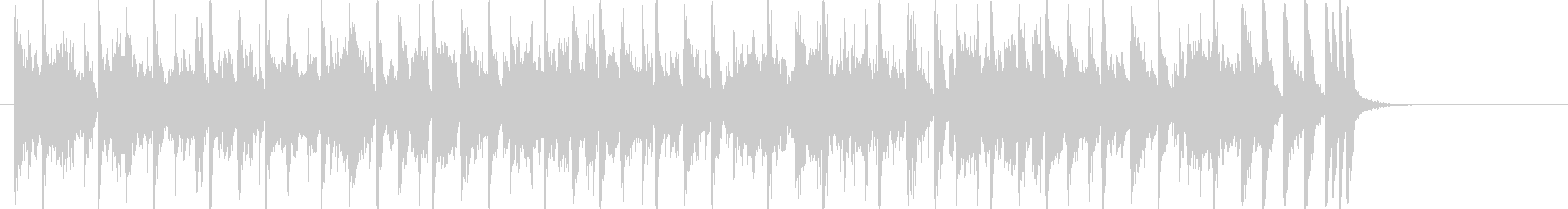 30秒 Vo無 レトロ元気な映像B37 の未再生の波形