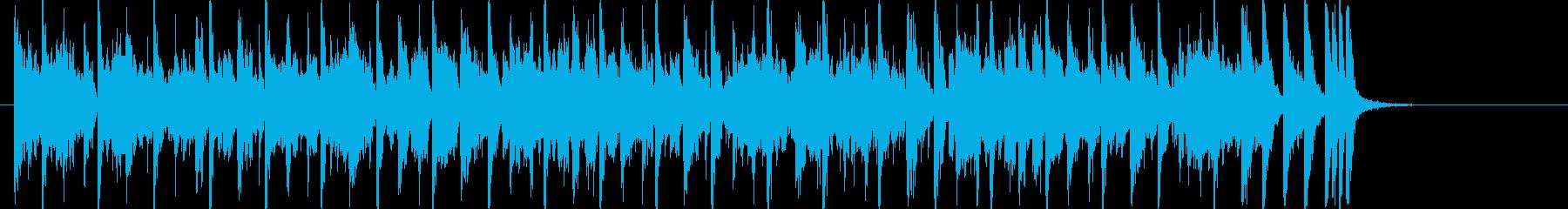 30秒 Vo無 レトロ元気な映像B37 の再生済みの波形