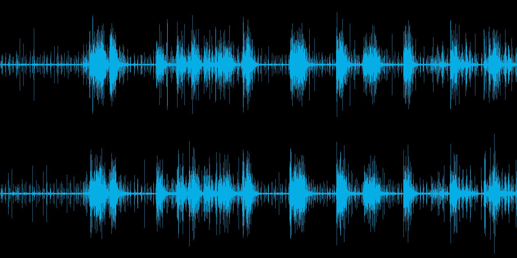 モンスター 蟲 クリーチャー 摩擦音の再生済みの波形