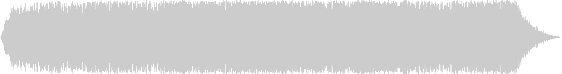 ドローン 焼けるような鳥01の未再生の波形