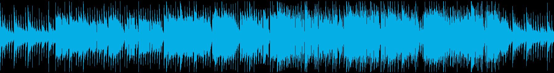 ファンタジー系のキラキラ曲※ループ仕様版の再生済みの波形