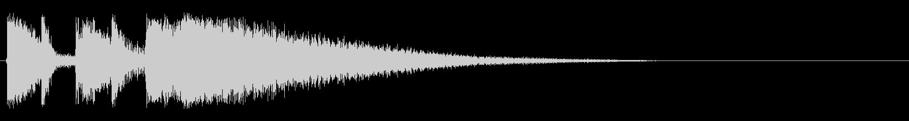 ロック ヘヴィロックの未再生の波形