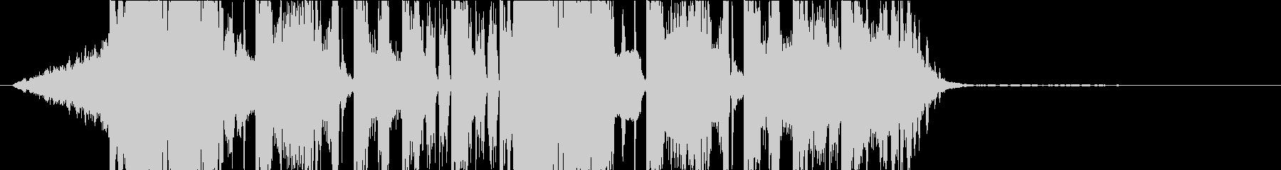 DUBSTEP クール ジングル144の未再生の波形