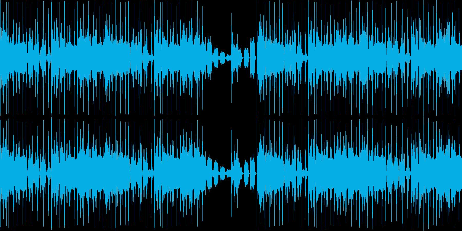 【和風/JAZZ/チルアウト/おしゃれ】の再生済みの波形
