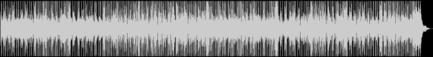 スローファンクのピアノBGMの未再生の波形