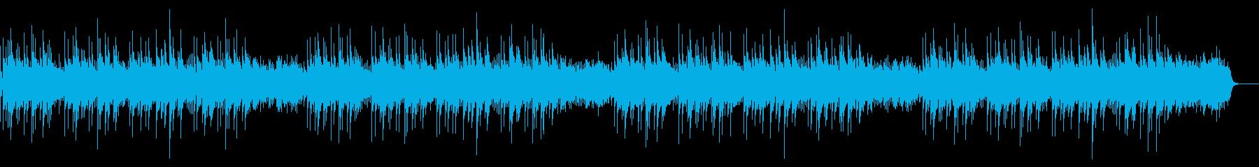 「浜辺の歌」オルゴール の再生済みの波形
