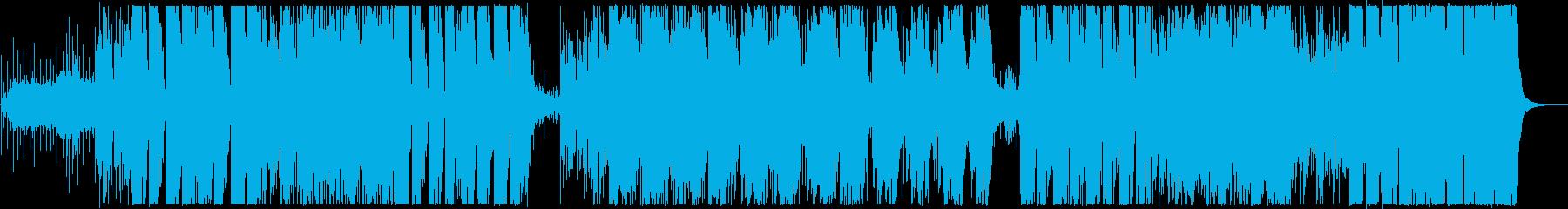 エッジの効いたアクションスリラーは...の再生済みの波形