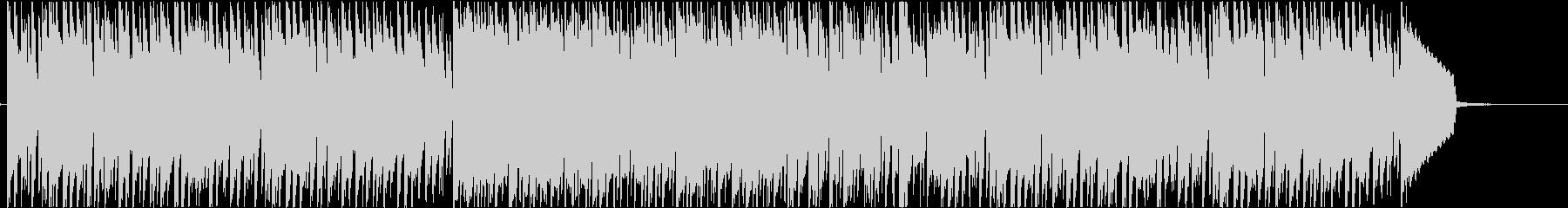 ビブラフォンが主旋律の軽快なインストの未再生の波形