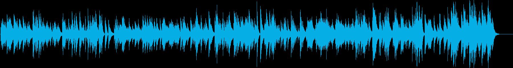 「キースジャレット」ムードのピアノ...の再生済みの波形