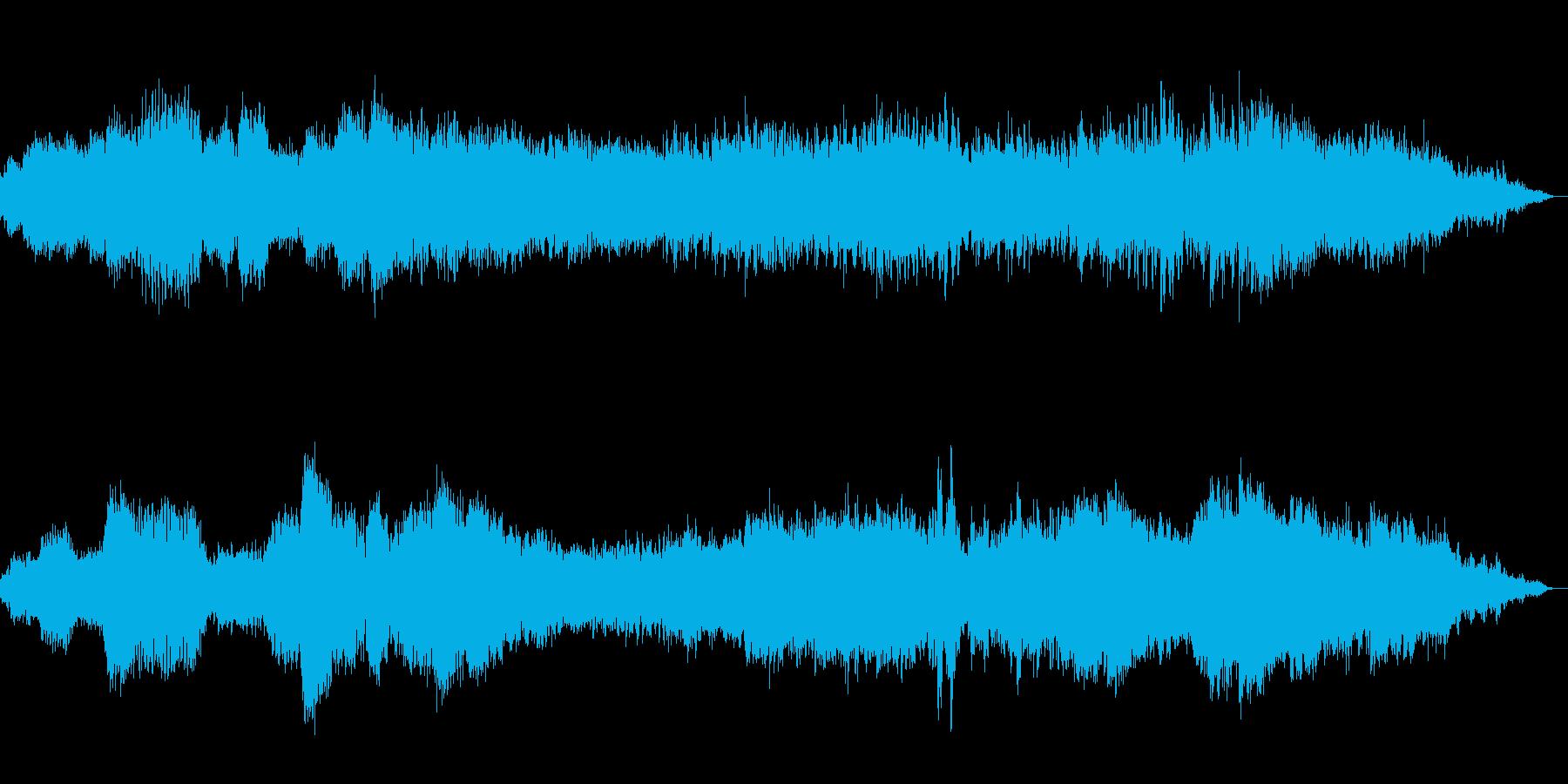 瞑想・ヨガ・占い・神秘的 癒しの周波数の再生済みの波形