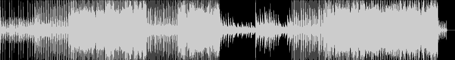 リズムはっきりのピアノインストで和の要素の未再生の波形