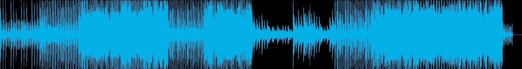 リズムはっきりのピアノインストで和の要素の再生済みの波形