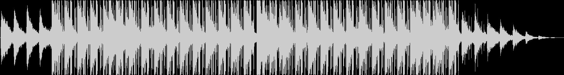 ラウンジ、ヒップホップ、チルアウトの未再生の波形