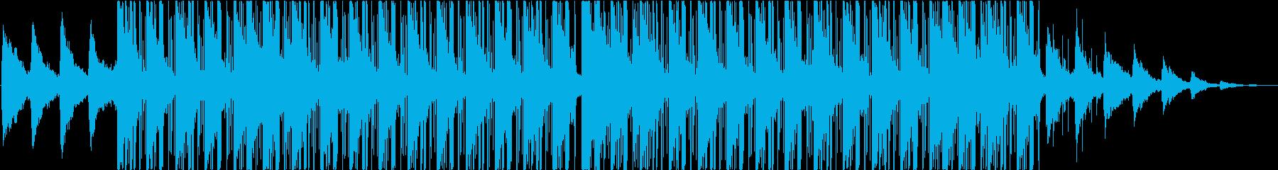 ラウンジ、ヒップホップ、チルアウトの再生済みの波形