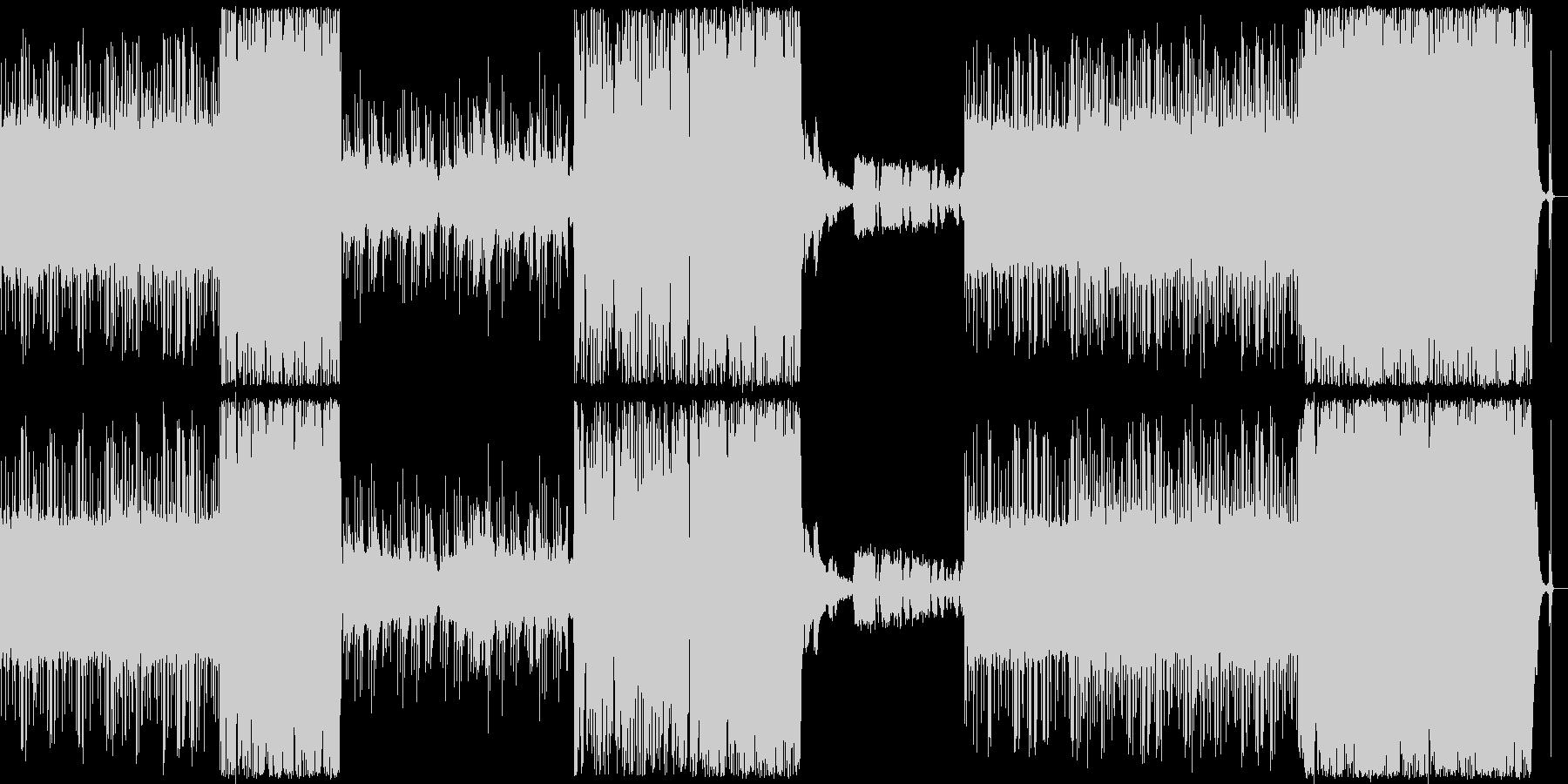 アナログな雰囲気のtrap BGMの未再生の波形
