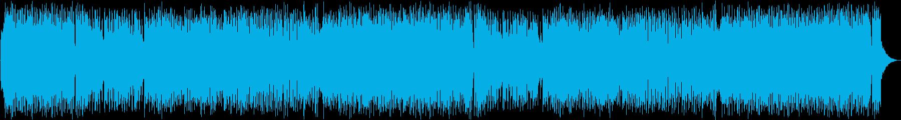 ピアノ・おしゃれ・ED・OPの再生済みの波形